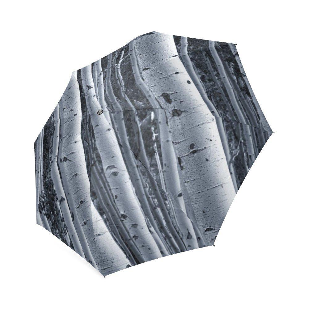 0f817f23a520 Amazon.com: White Birch Tree Forest High Quality Foldable Umbrella ...