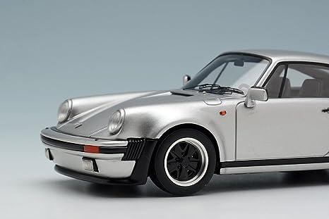 VISION 1 / 43 Porsche 930 Turbo 1988 silver: Amazon.es: Juguetes y juegos