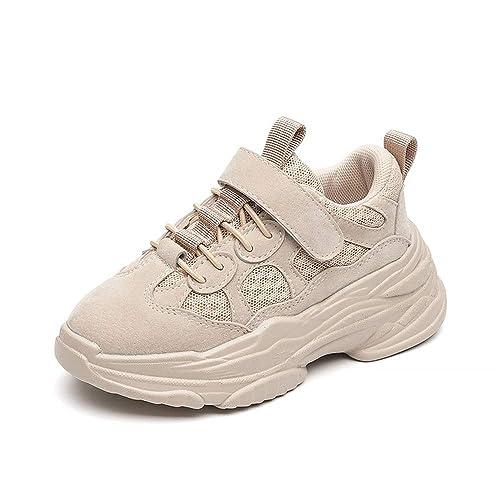 JUNMAONO Zapatillas de Deporte Zapatos para Niños Calzado Deportivo Botas Niña Botines Infantiles Zapatilla Sneaker Chicos