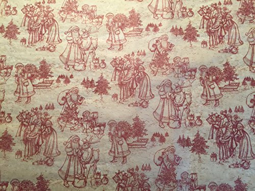 (Gift WRAP Tissue Paper for Christmas, 24 Sheets, Large 20x30, Printed Decorative Tissue Paper (Vintage Christmas Toile))