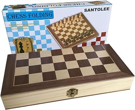 G-Tree Juego de ajedrez Madera de ajedrez de Viaje Juego de ...
