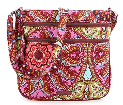 Vera Bradley Triple Zip Hipster (Resort Medallion)