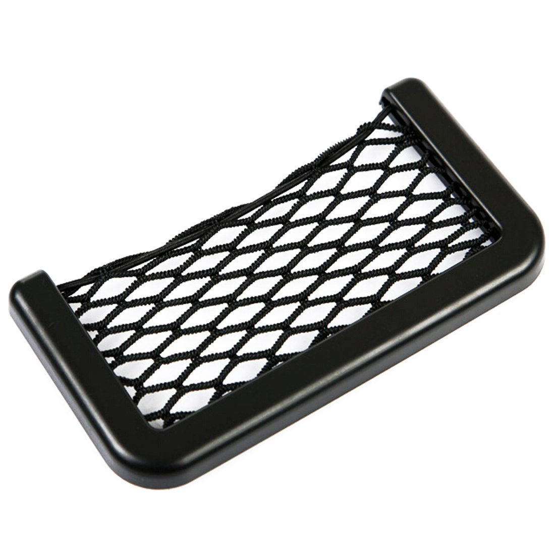 Car Storage Net Bag Car Seat Side Phone Holder Organizer Auto Net Pocket Universal Mini