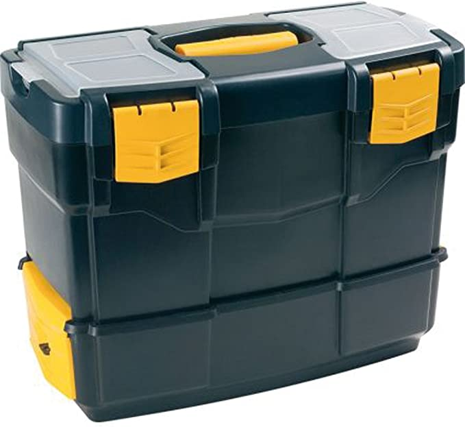 Art Plast 6500V De plástico, Polipropileno Negro, Amarillo caja de ...