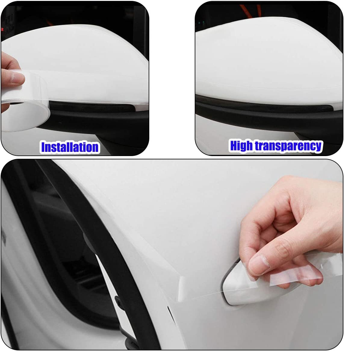 Invisible Anti Scratch Strip Car Suv Door Edge Protector Guard Film Sheet 16.5Ft