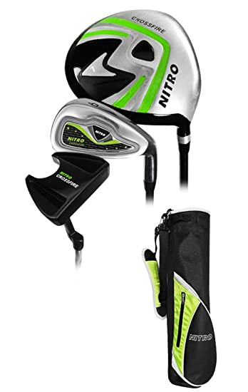Amazon.com: Nitro Golf- Junior Crossfire 6 piezas Set ...