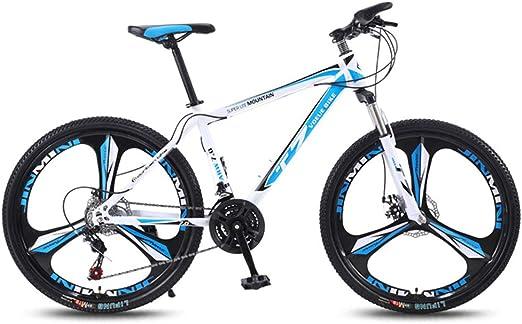 QJ Bicicleta De Montaña, 21 con Amortiguador De Cambio De Carrera ...