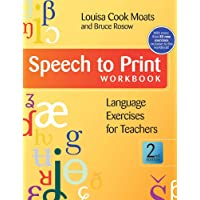 Speech to Print Workbook: Language Exercises for Teachers 2ed