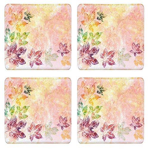 msd-natural-rubber-square-coasters-image-id-8566429-abstract-background-watercolor-leaves-painted-on