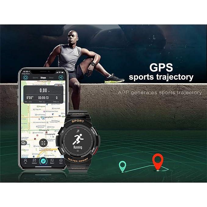 Amazon.com: LXJTT Smartwatch IP68 Waterproof Bluetooth 4.0 ...