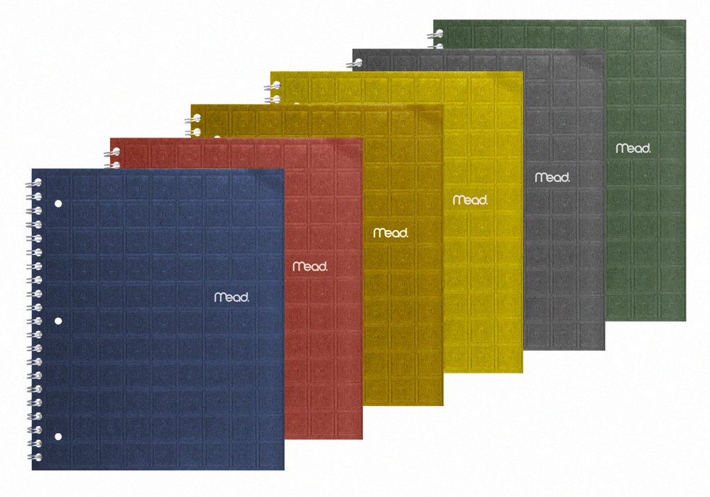 green school supplies mead notebook