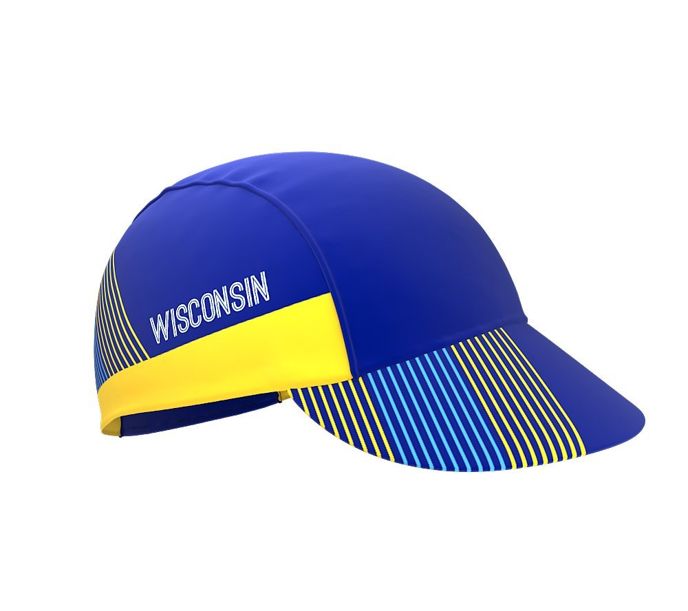 Wisconsin Bike Cycling Cap