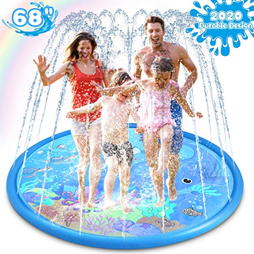 Sprinkler Splash Pad for