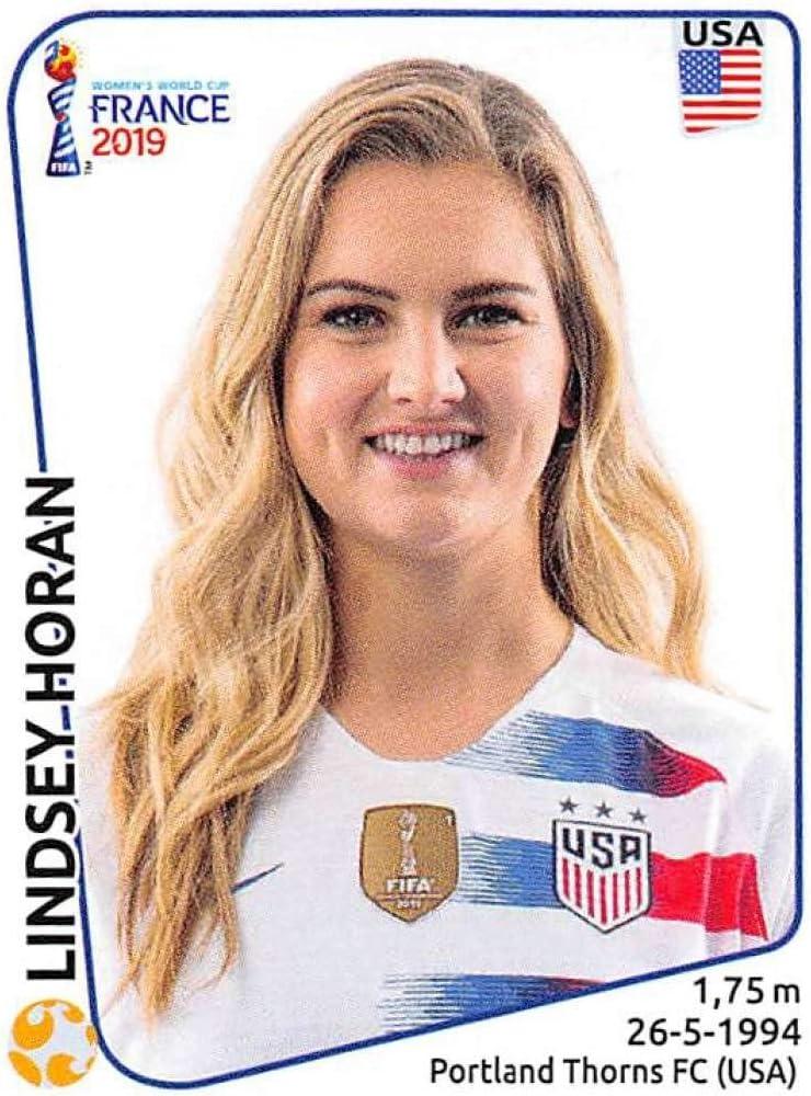 Amber Hearn Neuseeland Panini Frauen WM 2019 Sticker 381
