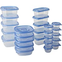 Glad Food Storage Containers - food Container Variety Pack - 25 Containers - 50 Piece Set