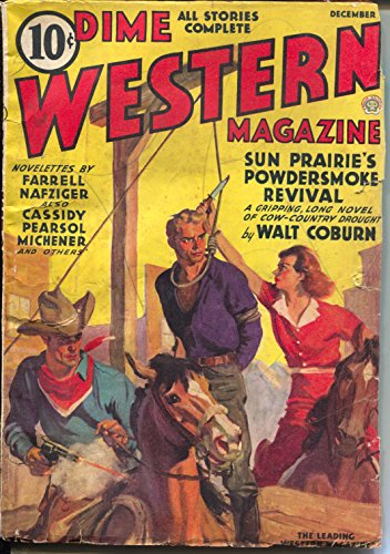 Dime Western 12/1937-Popular-hanging cover-western pulp thrills-VG+ ()