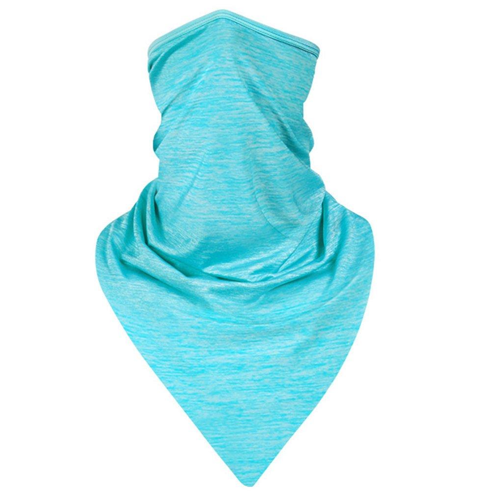 AmyGline Sport Riding Anti-Dust Kopftuch Halbe Gesichtsmasken Bandanas Ice Silk Reitmaske