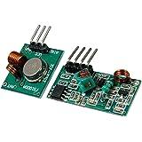 MagiDeal 433 Mhz RF Drahtlose Sender Und Empfänger Modul Link Kit DIY DC5V Für Arduino