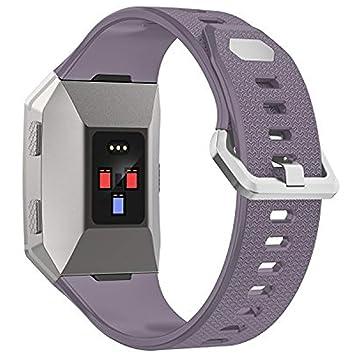 Pulsera Wearlizer de repuesto para relojes deportivos Fitbit Ionic, de TPU, para hombre y