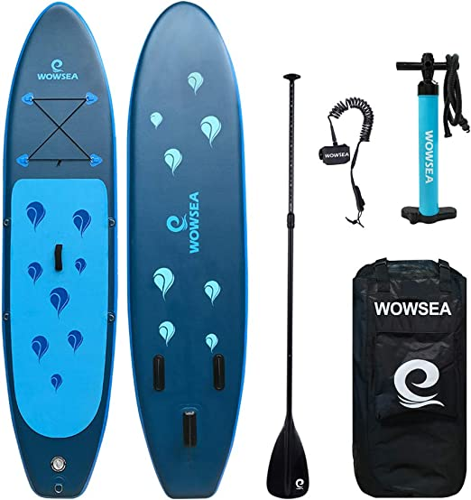 WOWSEA Tabla Hinchable Paddle Surf, Paddle Board Hinchable con ...