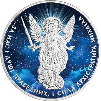 2015 Ukraine Archangel Michael .999 Silver Coin BU