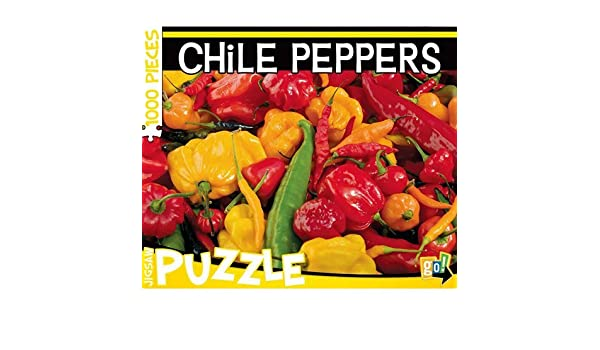 Games Chile Peppers 1000 Piece Puzzle Go