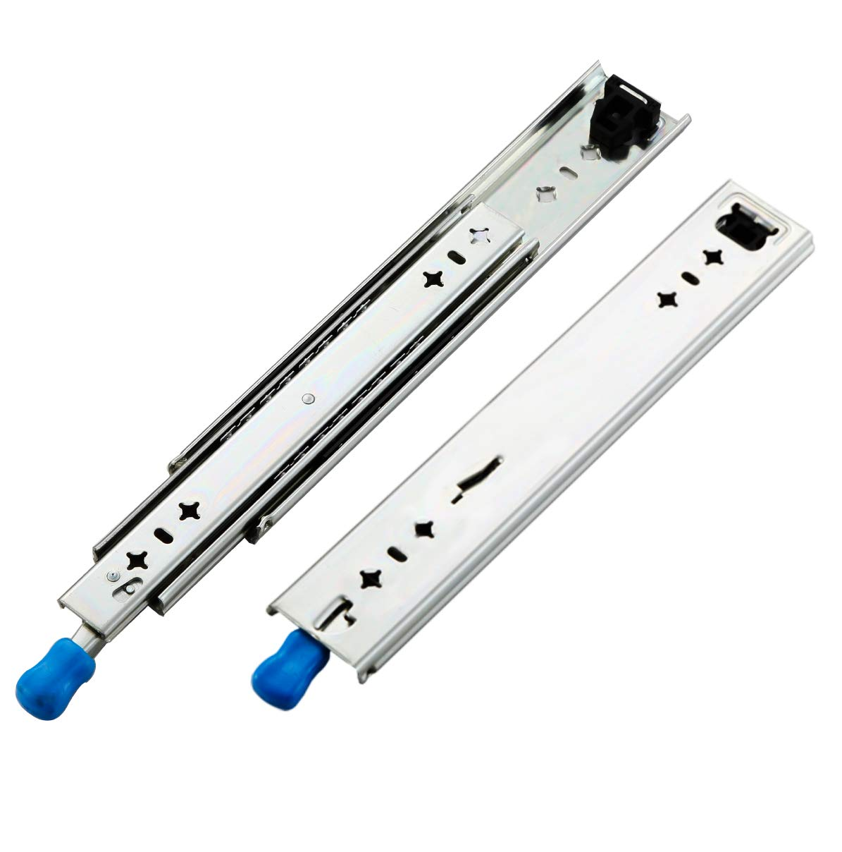 VADANIA Heavy Duty Drawer Slides, 12 Inch with Lock, Full Extension Ball Bearing, 1-Pair