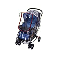 Comfysail Universal PVC Waterproof Baby Stroller Rain Cover Rain Weather Protector for Buggy Throw Baby Carriage
