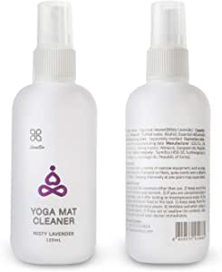 Sumi Eco 100% Natural Yoga Mat Cleaner - Safe for All Mats, No Sticky Or Slimy Residue - Cleans, Restores, Refreshes + Free Microfiber Cleaning Towel Included (Misty Lavender)