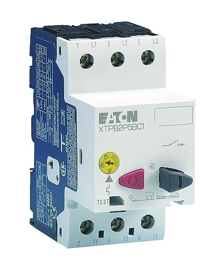 Eaton Manual Mtr Protctr 0.25A PushBttn FrameB - Electronic Motor ...