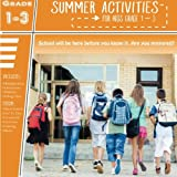 Summer Activities for Kids Grades 1-3: Summer Workbooks For Kids: Physical Fitness Games For Children,Summer Activity Books,K-1,2-3,4-5,1-2,5-6,Summer ... Practice,Math,Learning Books For Children