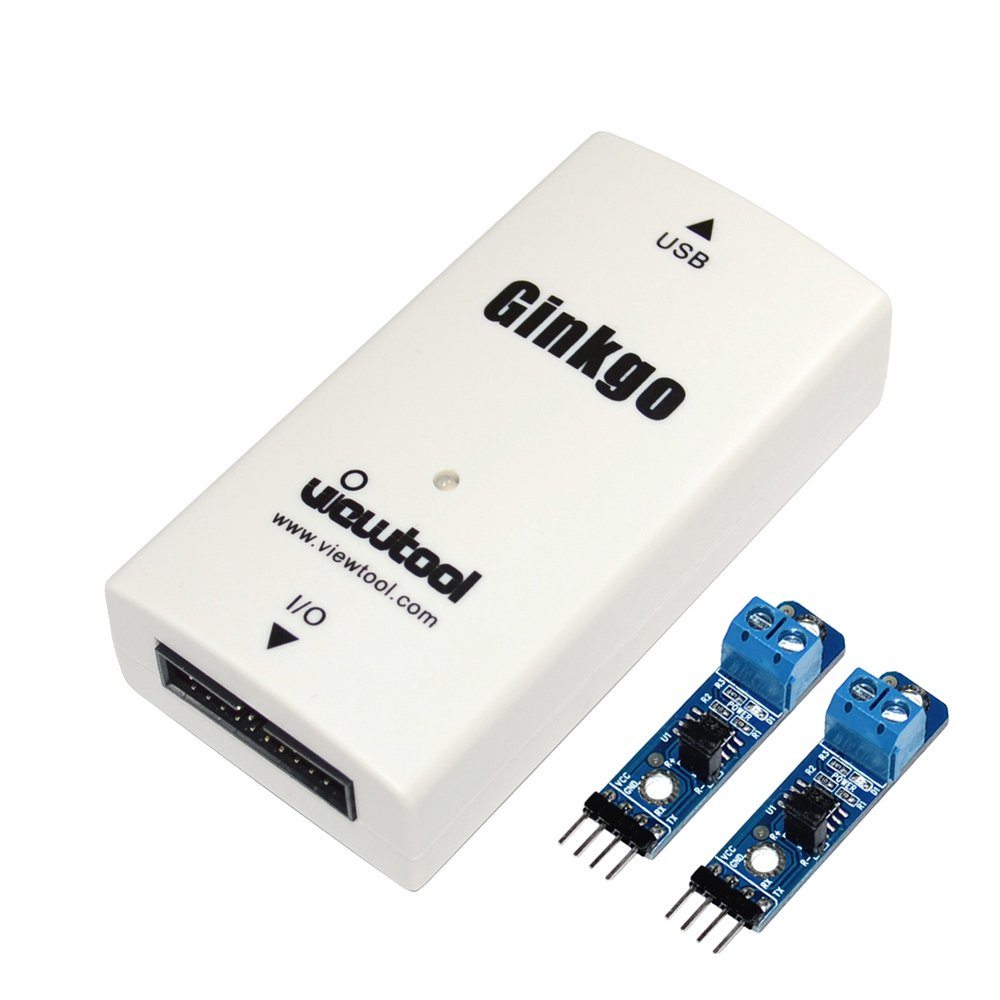 ViewTool Ginkgo USB To CAN Bus Adapter Support Windows/Linux/MAC/Android/Raspberry Pi USB-CAN Converter compatible with I2C/SPI/UART/ADC/DAC/GPIO