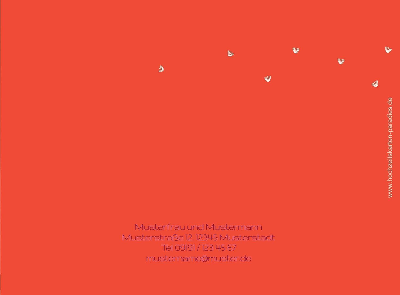 Kartenparadies Kartenparadies Kartenparadies Danksagung für Hochzeitsgeschenke Hochzeit Dankeskarte PusteBlaume, hochwertige Danksagungskarte Hochzeitsglückwünsche inklusive Umschläge   10 Karten - (Format  148x105 mm) Farbe  Orangerot B01MYAMLOM | New Products  | b2c04b