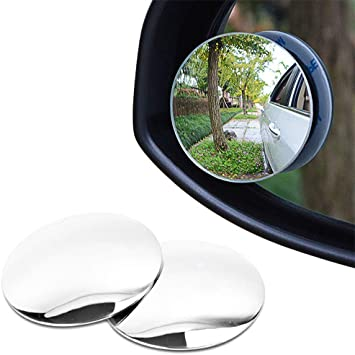 moto e altro lato specchio punto cieco Gasea confezione da 2/Blind spot specchi per auto 5,1/cm senza telaio in vetro HD 360//° ruotabile convesso specchietti retrovisori universale per auto camion furgoni
