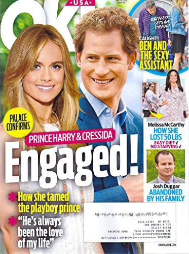Prince Harry & Cressida Bonas l Ben Affleck l Melissa McCarthy l Josh Duggar - June 29, 2015 OK! Magazine