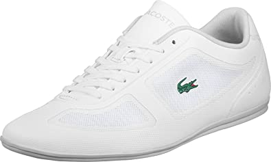 601f727763fc Lacoste Misano Evo 316 1 Homme Baskets Mode Blanc: Amazon.fr ...