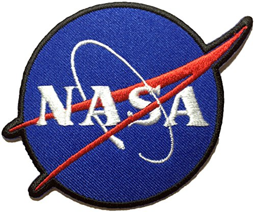 Nasa Sign Space Blue Shuttle Vector Discovery Agency Houston Cape Canaveral USA Embroidered Appliques Hat Cap Polo Backpack Clothing Jacket Shirt DIY Cotton Sewing Iron On Costume Badge Logo Patch](J Force Paintball)