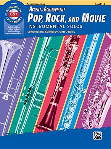ovie Instrumental Solos: Tenor Saxophone, Book & CD (Instrumental Solos Series) (Pop Tenor Sheet Music)