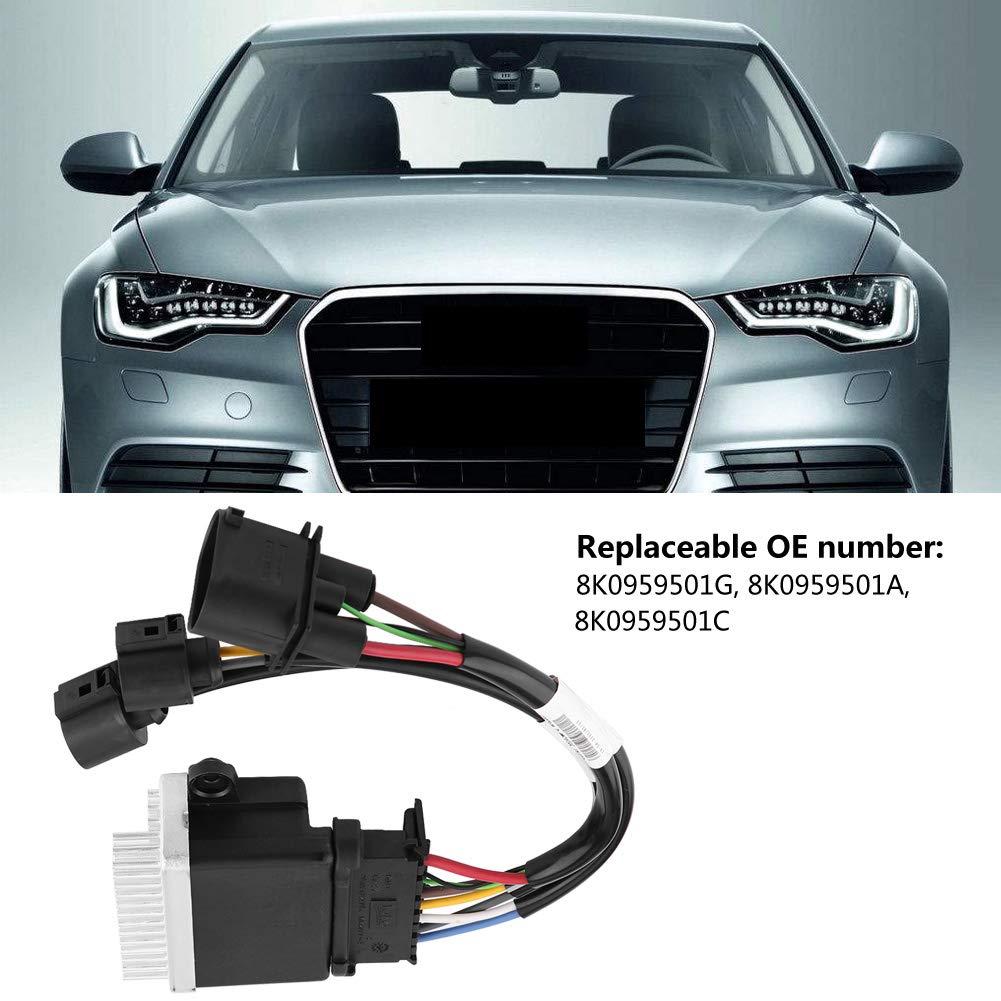 Engine Cooling Fan Control Module 8K0959501G Engine Radiator Fan Control Unit Module for Audi A6 A4 Q5 Q3 8K0959501G 8K0959501A 8K0959501C