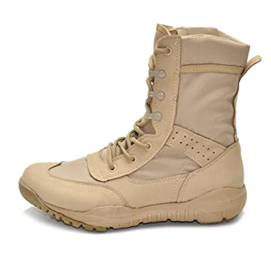 a948c7db9ad Amazon.com: IODSON US Mens' Ultra-Light Combat Boots Military ...
