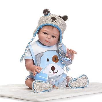 NPK Collection Muñeca bebé recién nacido 52 cm 21 pulgadas, muñeca ...