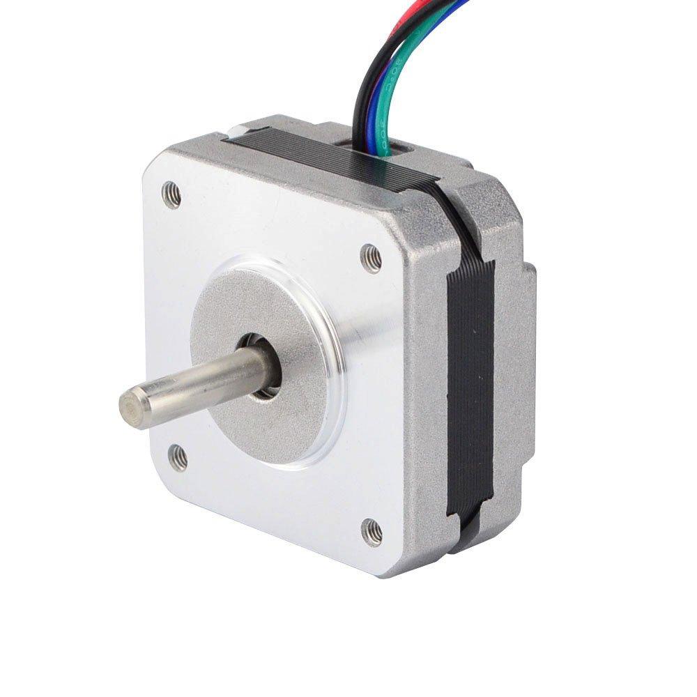 Short Body Nema 17 Bipolar Step Motor 3.5V 1A 18.4oz.in/13Ncm DIY CNC