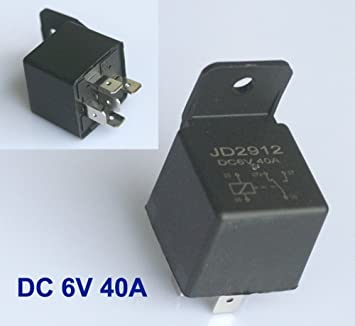 Relay 6 V 6 VOLT 40 A/No Car Operating Current Relay Switch ... on