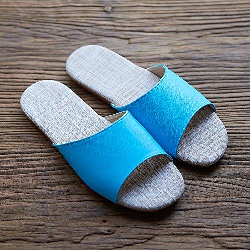zapatillas 40 38 Azul Ropa 39 41 antideslizante y interior y amarillo días 0OpxtwqEx
