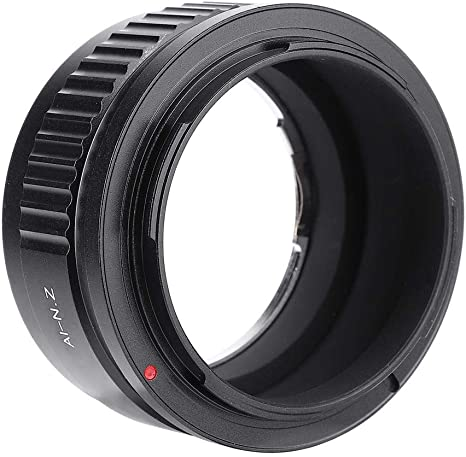 Vbestlife FD-NZ Camera Lens Adapter Ring Aluminum Manual Focus and Exposure Camera Lens Adapter for Canon FD Lens to for Nikon Z Mount Cameras