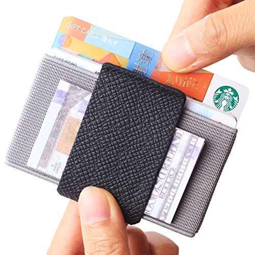 Slim Wallet Front Pocket Minimalist Thin Credit Card Holder Mini Size Men and Women