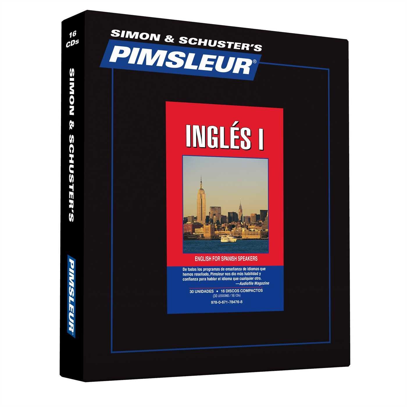 English for Spanish Speakers 1: Pimsleur: 9780671784768: Amazon.com: Books