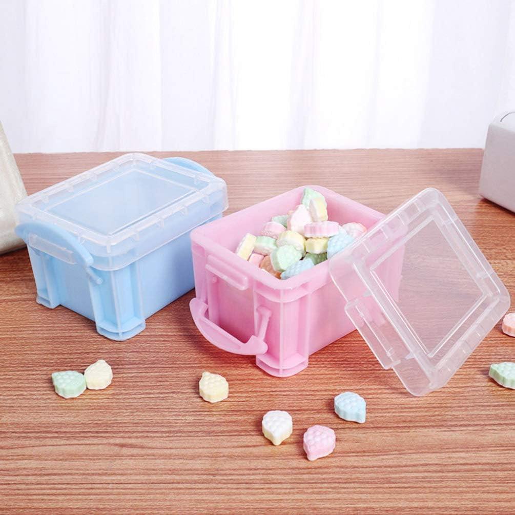 Amosfun 12 piezas caja de dulces caja de plástico simple creativa ...