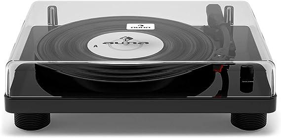 auna TT-Classic WD - Reproductor de vinilos, Tocadiscos con ...