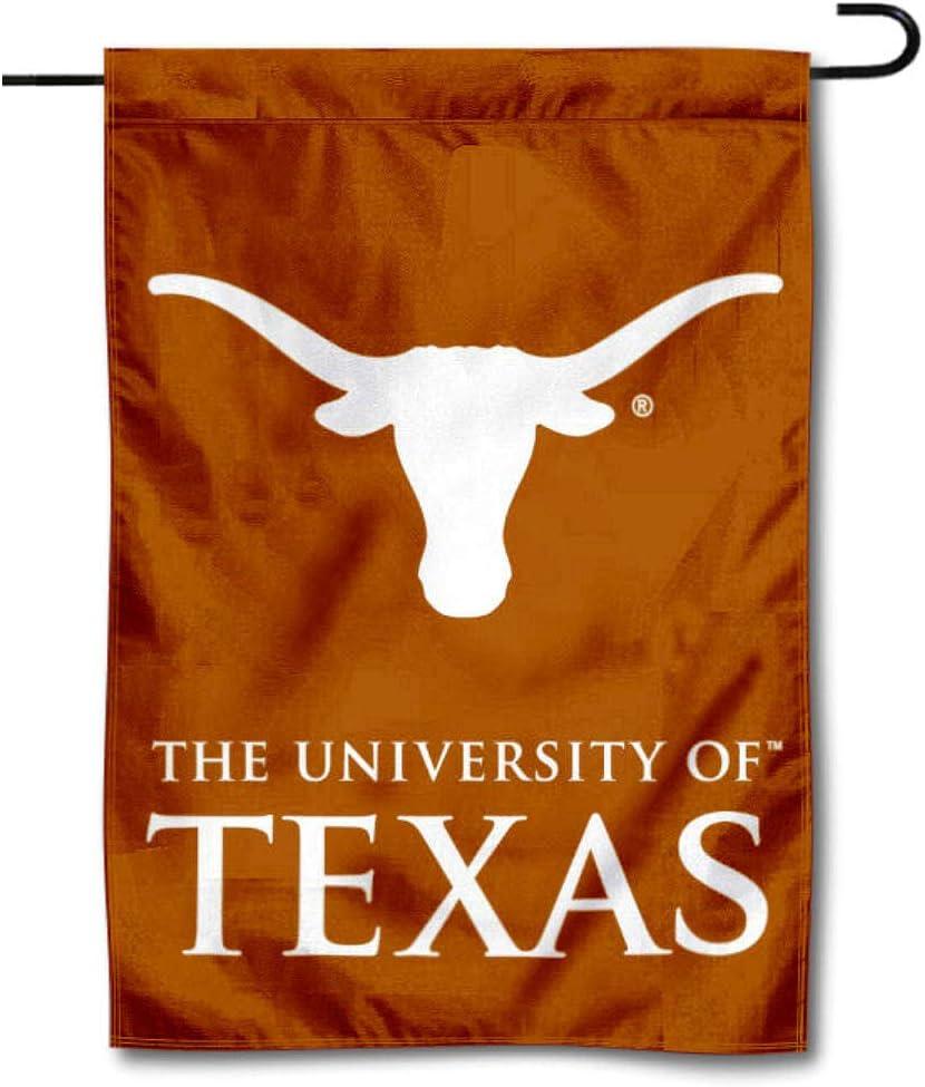 College Flags & Banners Co. Texas Longhorns Wordmark Garden Flag
